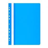 Skoroszyt OFFICE PRODUCTS, PP, A4, miękki, 100/170mikr., wpinany, niebieski, Skoroszyty do segregatora, Archiwizacja dokumentów
