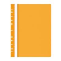 Skoroszyt OFFICE PRODUCTS, PP, A4, miękki, 100/170mikr., wpinany, pomarańczowy, Skoroszyty do segregatora, Archiwizacja dokumentów