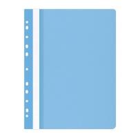 Skoroszyt OFFICE PRODUCTS, PP, A4, miękki, 100/170mikr., wpinany, jasnoniebieski, Skoroszyty do segregatora, Archiwizacja dokumentów