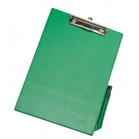 Clipboard Q-CONNECT Board, with a clip, PVC, A4, green
