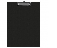 Clipboard Q-CONNECT Board, PVC, A5, black