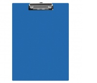 Clipboard Q-CONNECT Board, PVC, A5, blue
