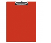 Clipboard Q-CONNECT Board, PVC, A5, red