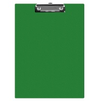 Clipboard Q-CONNECT Board, PVC, A5, green