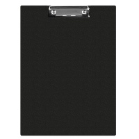 Clipboard Q-CONNECT File, PVC, A5, black