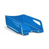 Desktop Letter Tray CEP Pro Gloss Maxi, polystyrene, blue