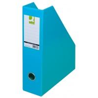 Pojemnik na dokumenty Q-CONNECT, PVC, A4/76, jasnoniebieski