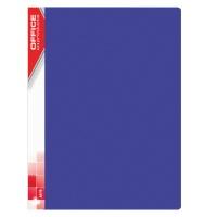 Teczka ofertowa OFFICE PRODUCTS, PP, A4, 520mikr., 10 koszulek, niebieska, Teczki ofertowe, Archiwizacja dokumentów
