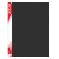 Teczka ofertowa OFFICE PRODUCTS, PP, A4, 620mikr., 20 koszulek, czarna