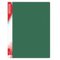 Teczka ofertowa OFFICE PRODUCTS, PP, A4, 620mikr., 20 koszulek, zielona, Teczki ofertowe, Archiwizacja dokumentów