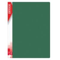 Teczka ofertowa OFFICE PRODUCTS, PP, A4, 850mikr., 40 koszulek, zielona, Teczki ofertowe, Archiwizacja dokumentów