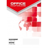 Office Pad OFFICE PRODUCTS A4, square ruled, 100 sheets, 60-80gsm