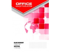 Office Pad OFFICE PRODUCTS A5, square ruled, 100 sheets, 60-80gsm