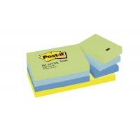Bloczek samop. POST-IT® (653-MTDR) 38x51mm 12x100 kart. paleta marzycielska, Bloczki samoprzylepne, Papier i etykiety