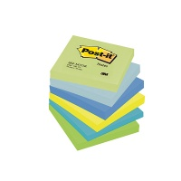 Self-adhesive Pad POST-IT® (654-MTDR), 76x76mm, 6x100 sheets, dreamy palette