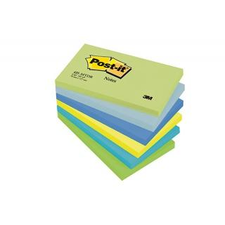 Bloczek samoprzylepny POST-IT® (655-MTDR), 127x76mm, 6x100 kart., paleta marzycielska