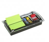 Promotion Set POST-IT® Z-Notes (DS100-VP), Combi-Millenium dispenser +12 pads +bookmark