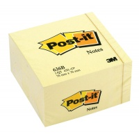 Self-adhesive Cube POST-IT® (636B) 76x76mm 1x450 sheets yellow