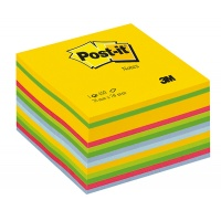Self-adhesive Cube POST-IT® (2028-U) 76x76mm 1x450 sheets colourful