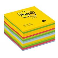 Kostka samop. POST-IT® (2030-U) 76x76mm 1x450 kart. kolorowa, Bloczki samoprzylepne, Papier i etykiety