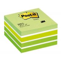 Kostka samoprzylepna POST-IT® (2028-G), 76x76mm, 1x450 kart., zielona