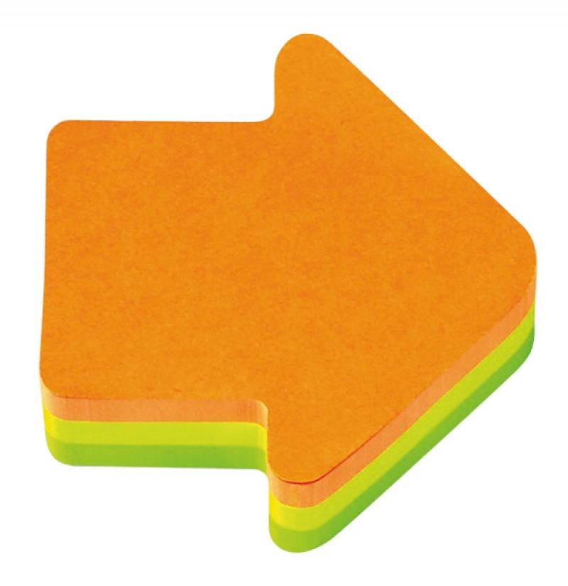 Kostka samoprzylepna POST-IT® (2007A), 1x225 kart., w kształcie strzałki