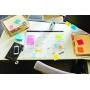 karteczki, bloczek, notes, karteczki samoprzylepne, post it, bloczek samoprzylepny, post-it, kartki samoprzylepne, karteczki samoprzylepny, bloczki samoprzylepne, postit, BLOCZEK, 4470-XLES, XL, super sticky, w linię, kolorowe, duże karteczki