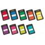 Zakładki indeksujące POST-IT® (680-5), PP, 25x43mm, 50 kart., żółte, Bloczki samoprzylepne, Papier i etykiety