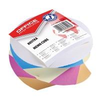 Kostka kręcona klejona 83x83x55mm mix kolorów, Kostki, Papier i etykiety