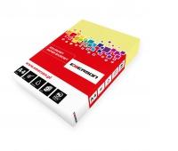 KSERO KOLOR A4 KANARKOWY 80G karton= 5 ryz_YE23, Papier ksero, Papier i etykiety