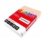 KSERO KOLOR A4 ŁOSOSIOWY 80G karton= 5ryz_SA24, Papier ksero, Papier i etykiety
