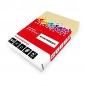 KSERO KOLOR A4 KREMOWY 80G karton= 5 ryz_BE66, Papier ksero, Papier i etykiety