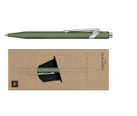 Ballpoint pen CARAN D'ACHE 849 Nespresso Green India, M, with case, green