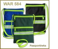 PASZPORTÓWKA WAR-584, Torby, torebki, Artykuły szkolne