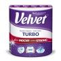Ręcznik w roli celulozowy VELVET Turbo, 3-warstwowy, 300 listków, biały
