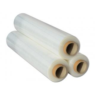 Folia stretch ręczna 1.25 kg netto przezroczysta, Folia stretch, Koperty i akcesoria do wysyłek