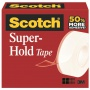 Taśma biurowa SCOTCH® Super-Hold, (700K), super mocna, 19mm, 25,4m, transparentna