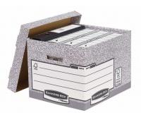 Bankers Box System z FSC® - pudło na archiwa ze zdejmowanym wiekiem - FastFold, op. 10 szt., Pudła archiwizacyjne, Archiwizacja dokumentów