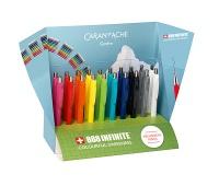 Display ołówków automatycznych CARAN D'ACHE 884 Infinite, 20szt., mix kolorów, Ołówki, Artykuły do pisania i korygowania