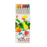 Pastele olejowe ICO Suni, 12szt., mix kolorów, Plastyka, Artykuły szkolne