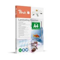 Folia do laminowania PEACH, A4, 2x80mikr., błyszcząca, 100szt., Akcesoria do laminacji i bindowania, Prezentacja