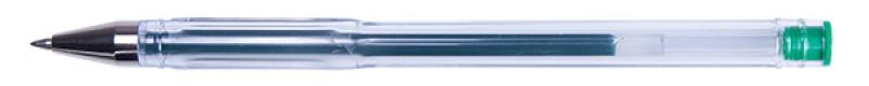 Długopis żelowy OFFICE PRODUCTS Classic 0,5mm, zielony, Żelopisy, Artykuły do pisania i korygowania