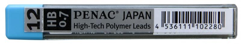 Grafity do ołówków PENAC 0,7mm, HB