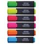 Zakreślacz fluorescencyjny OFFICE PRODUCTS, 1-5mm (linia), zielony, Textmarkery, Artykuły do pisania i korygowania