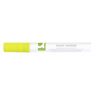 Oil-Based Marker Q-CONNECT, round, 2-3mm, golden