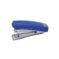 Zszywacz Boxer Mini zszywa do 10 kartek zintegrowany rozszywacz niebieski, Zszywacze, Drobne akcesoria biurowe