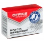 Spinacze okrągłe OFFICE PRODUCTS, 28mm, 100szt., srebrne, Spinacze, Drobne akcesoria biurowe