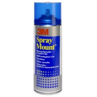 Spray Mount Adhesive Can 3M Spraymount (UK7874/11), universal, 400ml
