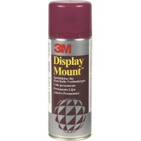 Spray Mount Adhesive Can 3M Displaymount (UK7806/11), permanent, 400ml
