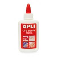 Klej biały APLI, 100g, Kleje, Drobne akcesoria biurowe